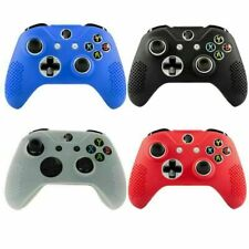 Silicone Gel Skin Protective Case Grip Cover For Microsoft Xbox One X Controller