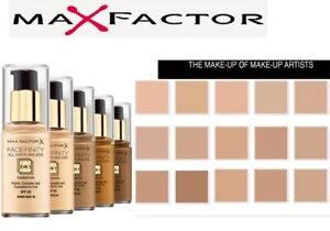 MAX FACTOR Facefinity 3in1 All Day Flawless Foundation 30ml SPF20 *ALL SHADES*