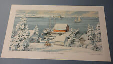 "Charles Peterson "" Early Snow In Ephraim"" Limited Edition Print"