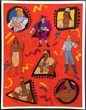 Vintage Hallmark Stickers - Disney - Pocahontas - Adorable!!