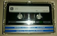 10 TDK AD 90 Audio tapes 1984 year