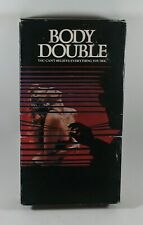 Body Double Vhs Tape