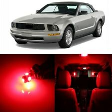 7 x Red LED Interior Light Package For 2005 - 2009 Ford Mustang + PRY TOOL