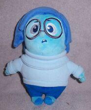 "Disney Pixar Inside Out Sadness Stuffed Plush 7"""
