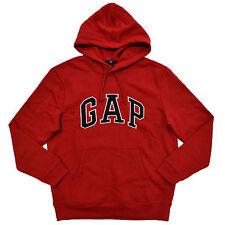 Gap Hoodie Mens Pullover Sweatshirt Fleece Applique Arch Logo Xs S M L Xl Xxl