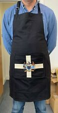 Cornwall Apron with Cornwall Flag and Embroidered One and All Crest Pocket