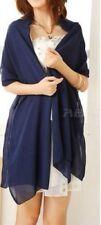 Bufandas y pañuelos de mujer de color principal azul de poliéster