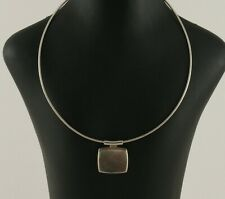Sterling silver Necking/Pendant designed by Jack Thwaites and made by Orlap Ltd.