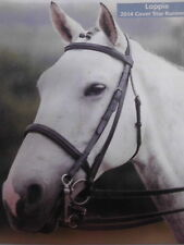 Shires Equestrian Kandare Wessex,Art.4568,schwarz Warmblut