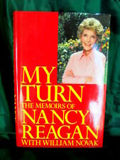 AUTOGRAPHED COPY OF MY TURN BY NANCY REAGAN, PUB. 1989 HARDCOVER