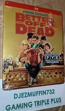 Better Off Dead Blu-Ray Steelbook (Region A) Fye Exclusive