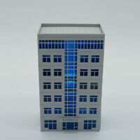Outland Models Railway Scenery Layout Modern Office Building N Scale