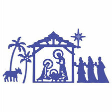 Happy Jesus's birth Metal Cutting Dies Stencils For DIY Scrapbooking Card SW HCU