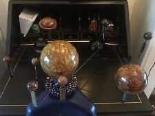 Upscaled Model Solar System Planetary Orrery Artist Varying Speed Planets Video