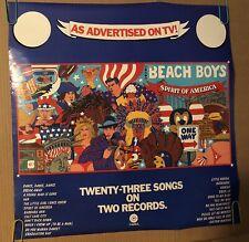 Beach Boys Spirit Of America Poster 1970's Pin-Up Rock & Roll Music Memorabilia