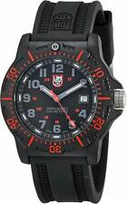 Luminox 8815 Men's Black Ops Resin with Red Accents 44mm Rubber Watch