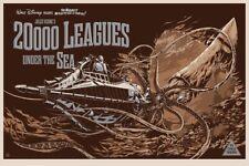 Ken Taylor - 20,000 Leagues Under the Sea Variant Art Film Screen Print Mondo