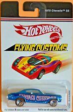 Hot Wheels 2006 Flying Customs 1970 CHEVELLE SS Blue L7409