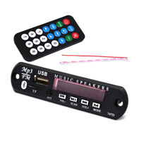 Wireless Bluetooth MP3 Car Decoder Audio Board Audio Module USB TF Radio NT