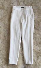 NEW JCrew $118 Martie Tuxedo Pants in Seasonless Stretch Size 0 Ivory H2752