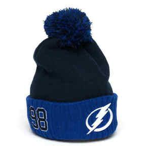 Tampa Bay Lightning Mikhail Sergachev number 98 №98 hat cap NHL hockey club #98