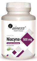 ALINESS Niacin, Nikotinsäure 500 mg 100 Vege Kapseln VERSAND WELTWEIT