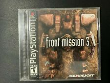 FRONT MISSION 3 - PS1 / PLAYSTATION - JEU COMPLET - NTSC / USA VGC TBE OVP CIB