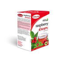 Morlife Teabags Raspberry Dream 25's x2 Box's | Organic Herbal Tea