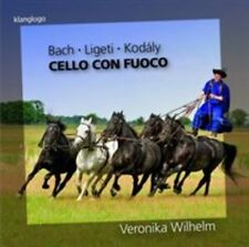 CELLO CON FUOCO: BACH, LIGETI, KOD LY NEW CD