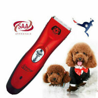 Pet Dog Clipper Grooming Comb Set Electric Cordless Hair Blade CE SAA Approved