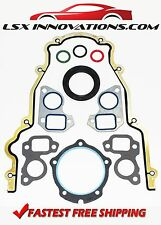 LS1 LS6 LS2 LS3 LQ9 LQ4 Timing Cover Gasket Set Fel Pro Cam swap 4.8 5.3 5.7 6.0