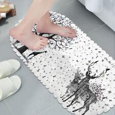 Bathroom Anti-Slip PVC Suction Explosion Print Shower Bath Mat Non-slip Carpet