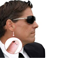 Hot Hidden Invisible Wireless Secret Spy Ear Earphone Earpiece For Mobile Phone