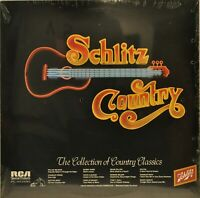 "Schlitz Country ""The Collection of Country Classics"" [RCA DPL1-0472] 1980 LP NEW"