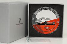 Porsche 911 1973 RS orange Grill Badge Emblem Club Plakette Kühlergrill WAP