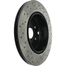 Disc Brake Rotor-OE Type Drilled Disc-Preferred Rear fits 18-20 Subaru WRX STI