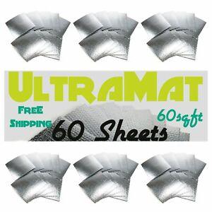 Scion 60 SqFt UltraMat Heat & Sound Barrier 60 12 x 12 Tiles xl