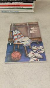 1985-86 Washington Bullets NBA Basketball Media Guide