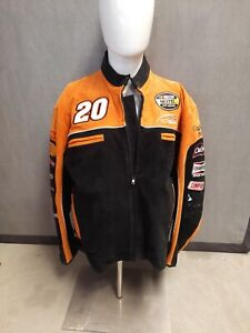 Nascar Home Depot Tony Stewart # 20 Chase Authentics Wilsons Leather jacket. BS