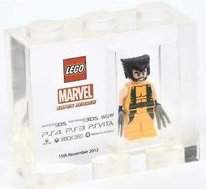LEGO TT Games Trophy Brick - Wolverine MARVEL Super Heroes  VERY RARE!