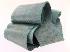 Peau de serpent cobra bleu melville