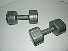 Work Out Aerobic Exercise Hand Weights 7.5 Lbs 15 Pounds Total Dumbbells