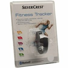 New Silver Crest Activity Fitness Tracker w Bluetooth