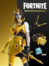 Golden Touch Challenge Pack + 1500 V-Bucks (XBOX One/X) Key ✅ USA/EU ✅ DIGITAL