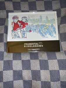 Prudential Ride London Limited Edition Inaugural Print Glass Framed David Murphy