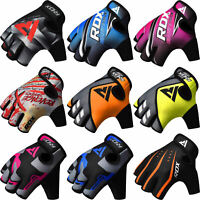RDX Weight Lifting Gloves Gym Fitness Bodybuilding Workout Training Yoga