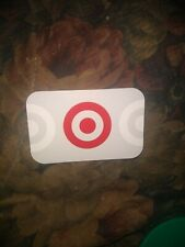 Target * Used Collectible Gift Card NO VALUE * 0619 2324