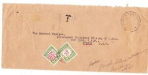 Australia POSTAGE DUE-SG#D133(Die I)#D129-SYDNEY 24/AU/55