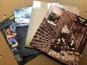 The Who  Classic Albums Vinyl Collection UK Press  Bundle / Job Lot  4 x LP  EX!
