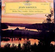 Sibelius/Karajan   Finlandia, Valse Triste, Der Schwan, Tapiola       DG